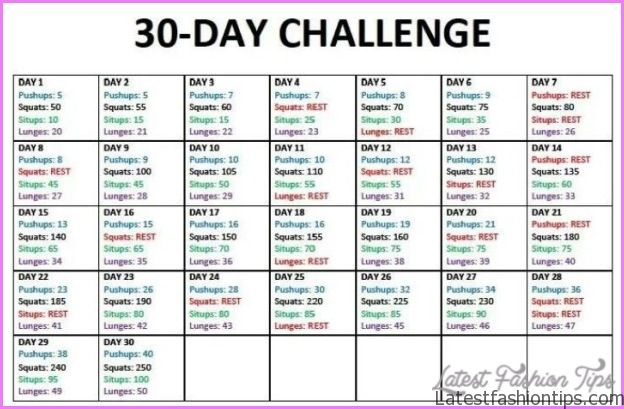 30 day gym workout plan to lose weight photo - 1