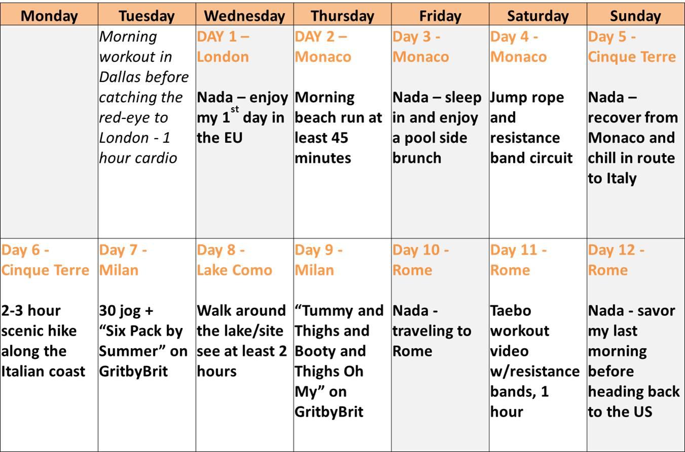 6 week workout plan to lose weight photo - 1