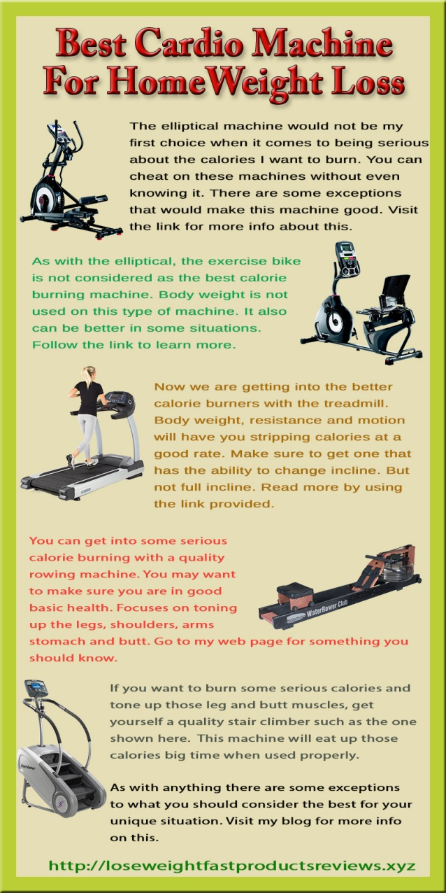 best cardio machine to lose weight photo - 1