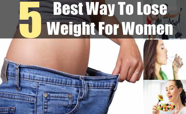 best way for women to lose weight photo - 1