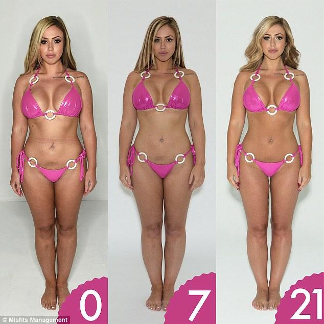 bodybuilder lose weight photo - 1