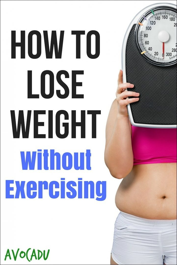 can i lose weight without exercising photo - 1