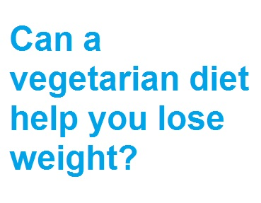 can you lose weight being a vegetarian photo - 1