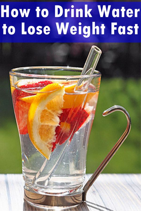 drink water to lose weight fast photo - 1
