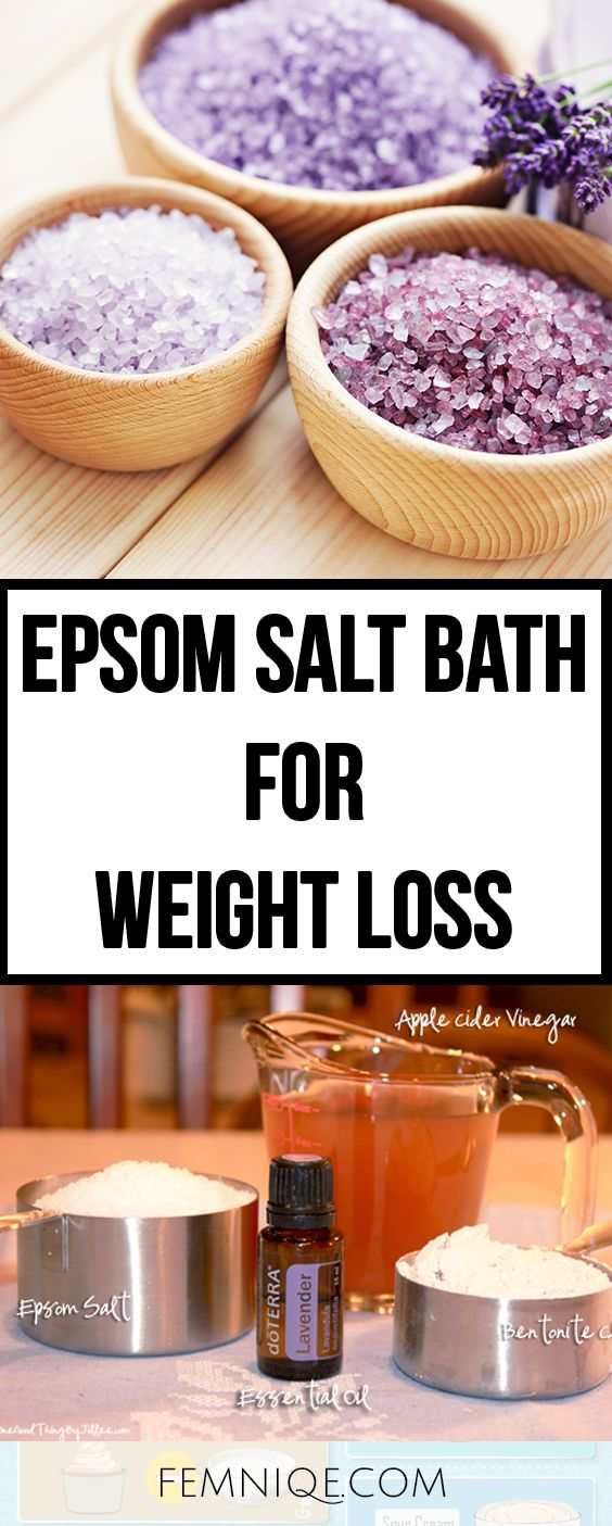 drinking epsom salt to lose weight photo - 1