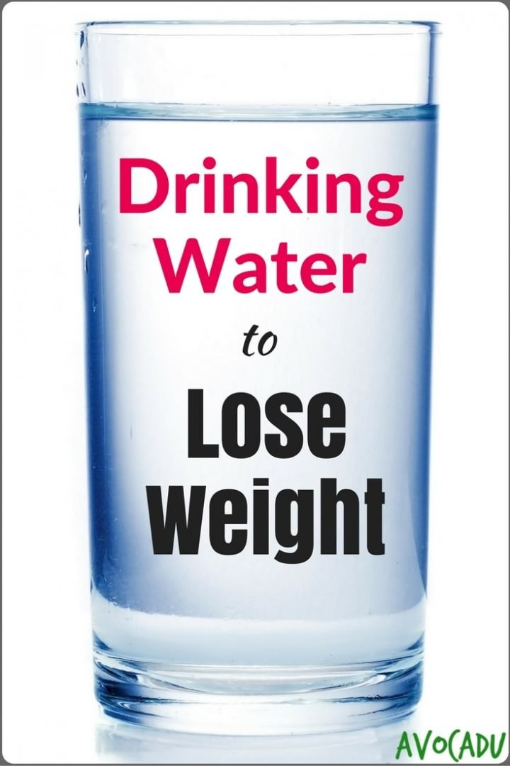 drinking water helps lose weight photo - 1