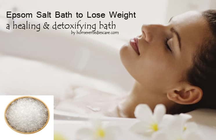 epsom salt bath lose weight photo - 1