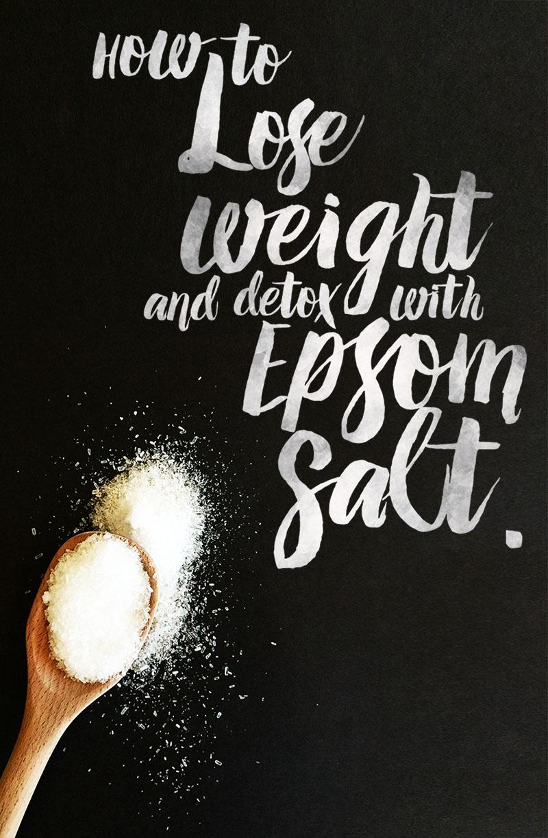 epsom salt baths to lose weight photo - 1