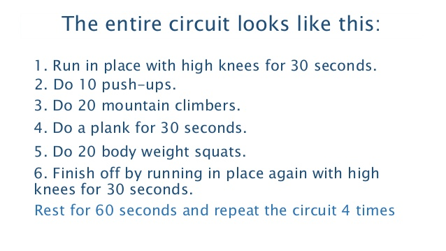 exercises at home to lose weight photo - 1
