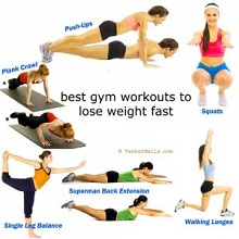 exercises to lose weight at home without equipment photo - 1