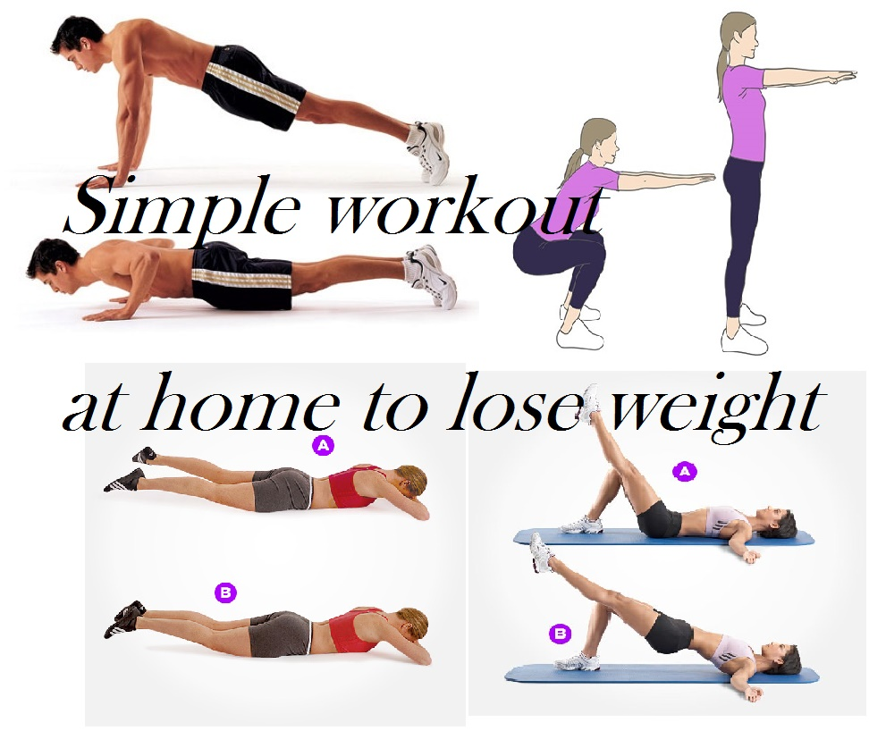 home workout to lose weight photo - 1