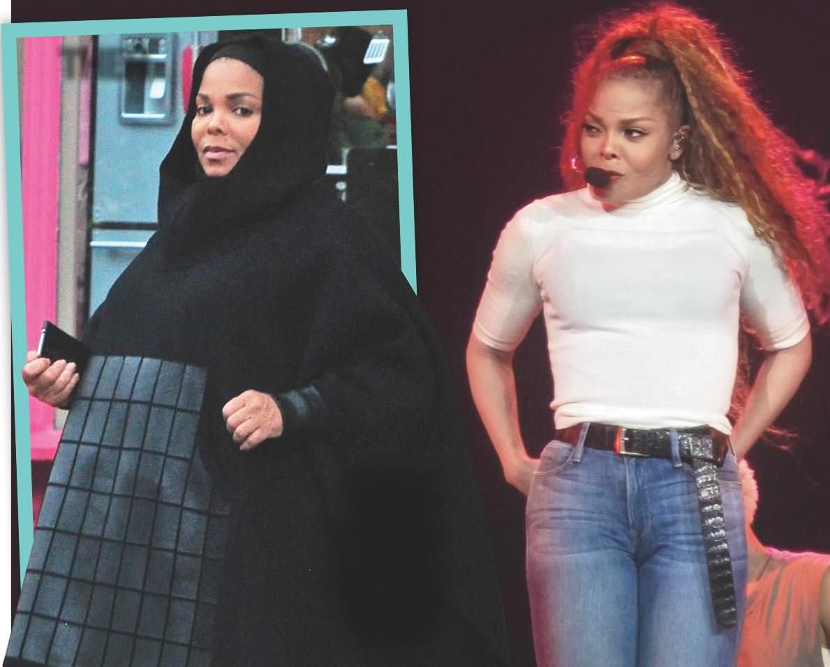 how did janet jackson lose weight photo - 1