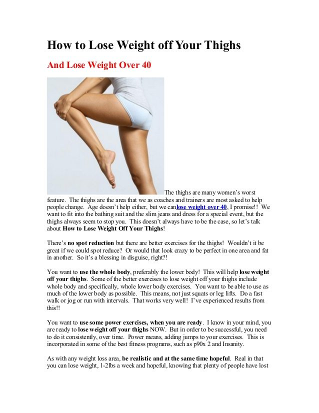 how do you lose weight in your thighs photo - 1