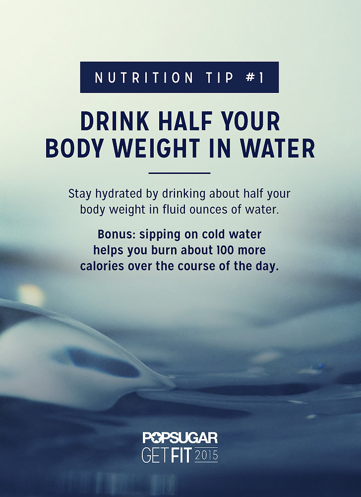 how much water should i drink daily to lose weight photo - 1