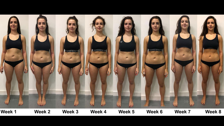 how much weight can u lose in a month photo - 1