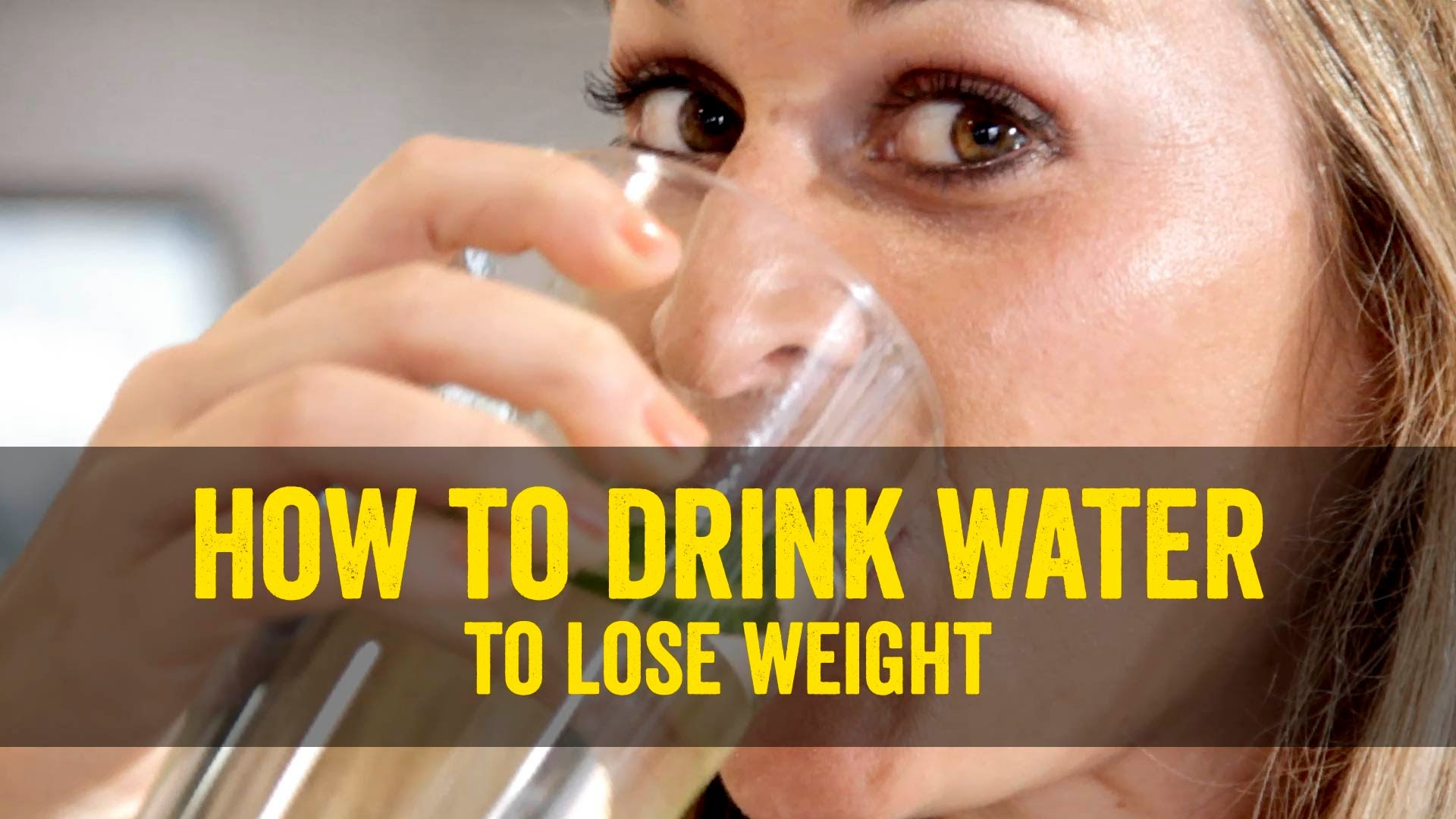 how much weight can you lose by just drinking water photo - 1