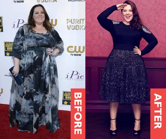 how much weight did melissa mccarthy lose photo - 1