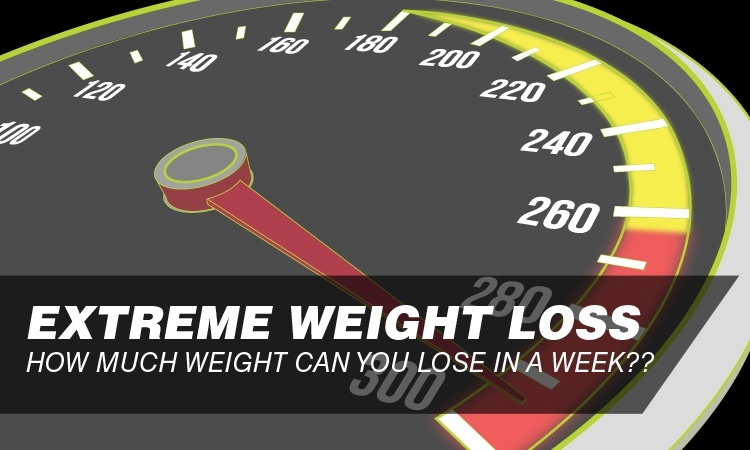 how much weight to lose in a week photo - 1