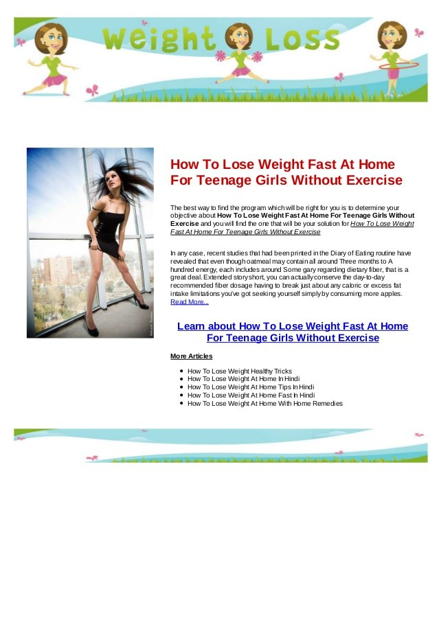 how to lose weight fast for teenage guys photo - 1