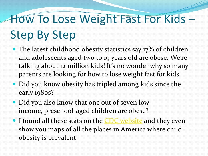 how to lose weight for kids photo - 1