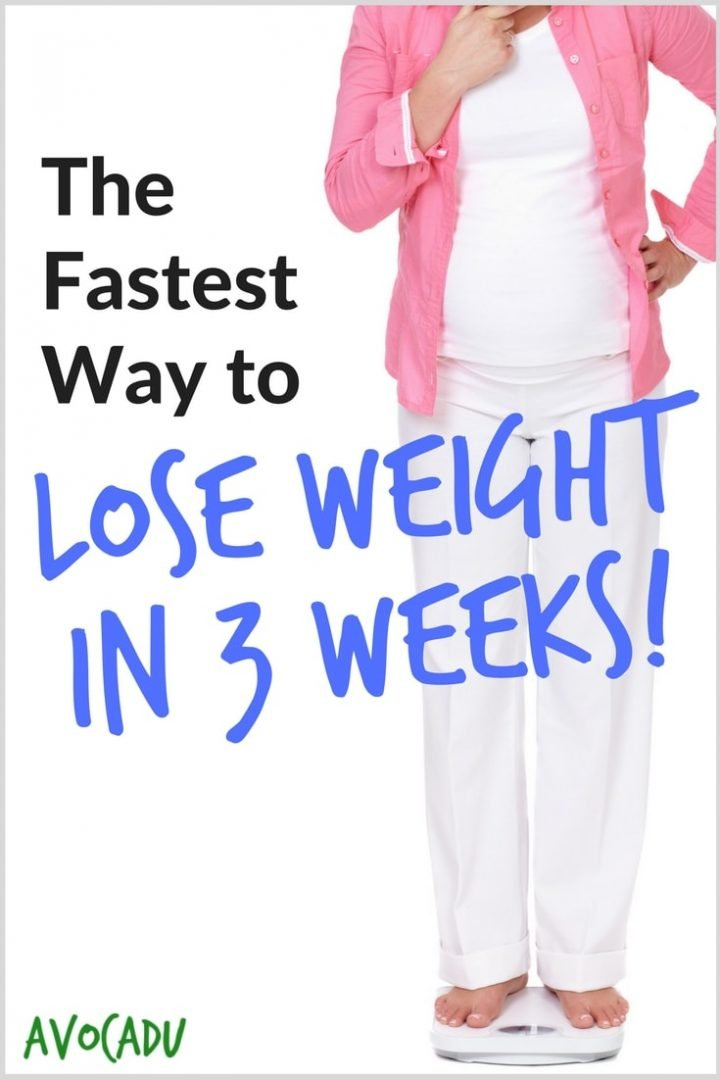 how to lose weight in 3 weeks photo - 1