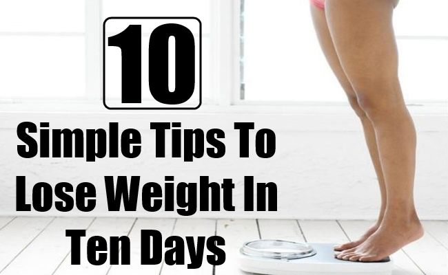 how to lose weight in ten days photo - 1