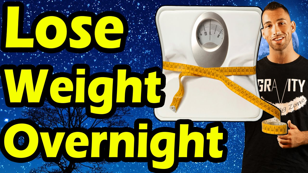 how to lose weight overnight fast photo - 1