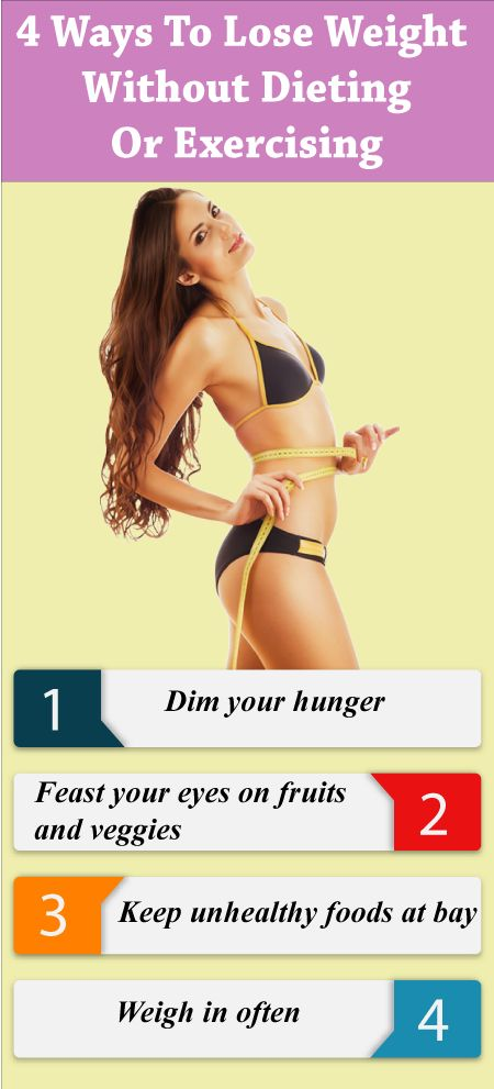 how to lose weight without dieting and exercising photo - 1