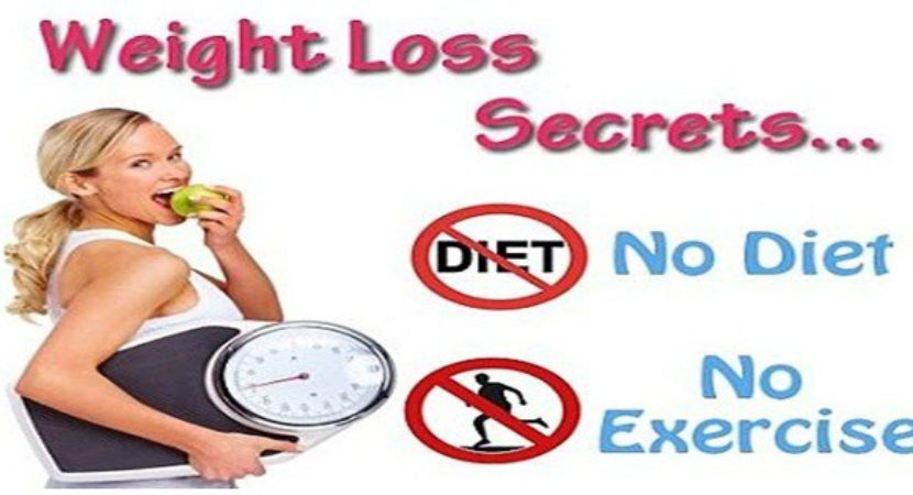 how to lose weight without exercise and diet photo - 1