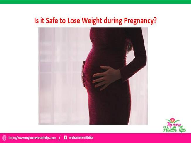 is it safe to lose weight during pregnancy photo - 1