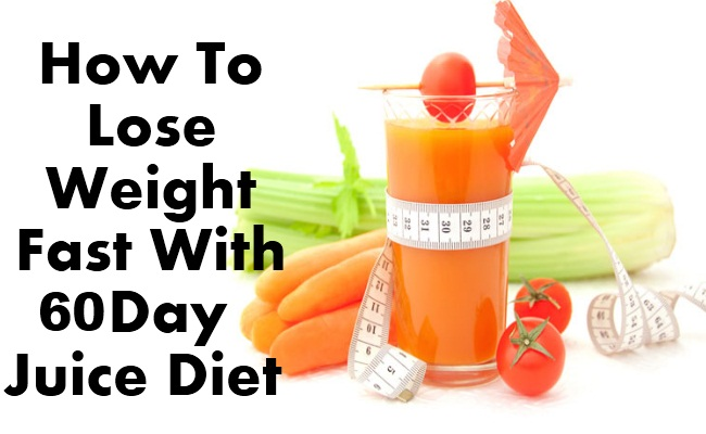 juicing to lose weight fast photo - 1