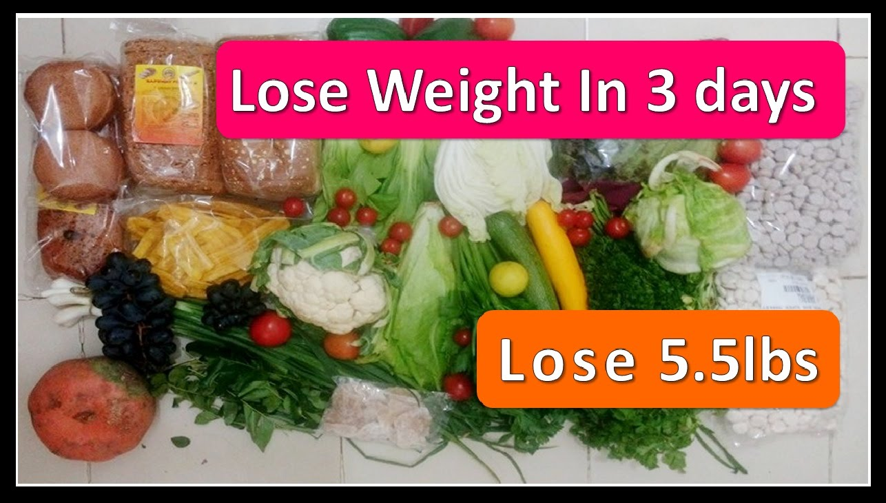 lose weight in 3 days photo - 1