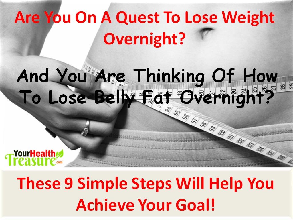 lose weight overnight photo - 1