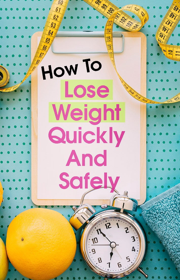 lose weight quickly and safely photo - 1