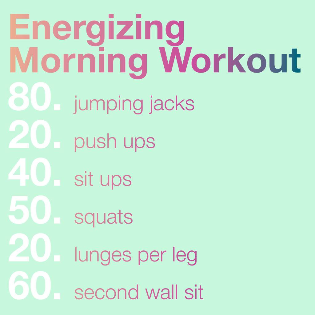 morning exercise routine to lose weight photo - 1