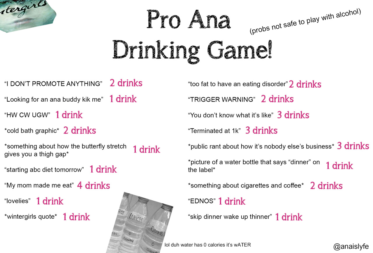 pro ana tips lose weight fast photo - 1