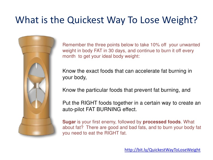 quickest way to lose weight fast photo - 1