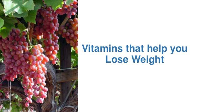 vitamins that make you lose weight photo - 1