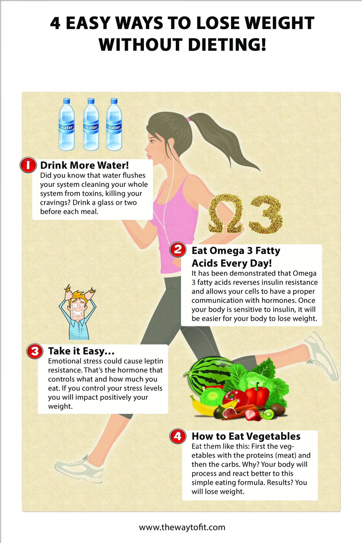 ways to lose weight fast without exercise or diet photo - 1