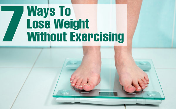 ways to lose weight without working out photo - 1