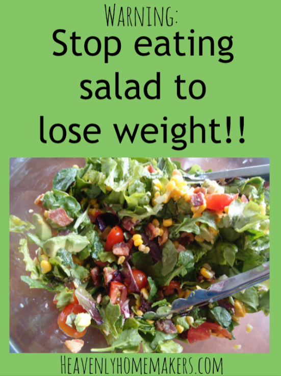 will eating salad help lose weight photo - 1