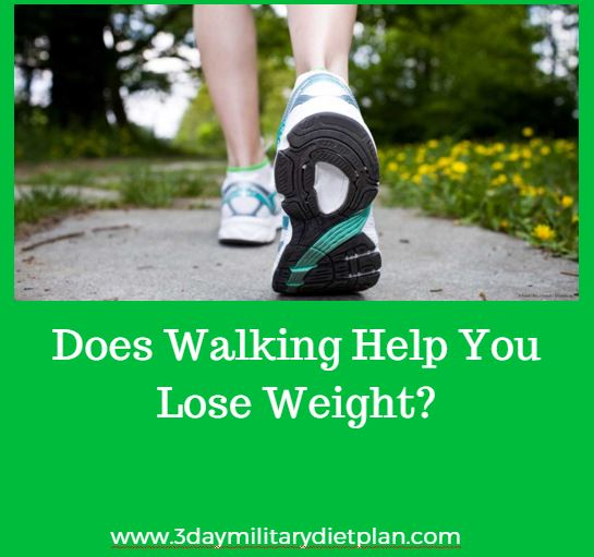will walking help lose weight photo - 1