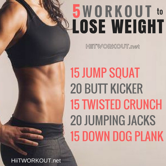 workout programs to lose weight photo - 1
